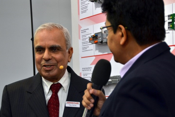 M D Interview at Hannover Messe 2015